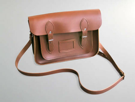 Vintage-style leather satchel at Labour and Wait - Retro to Go b724b0a56586
