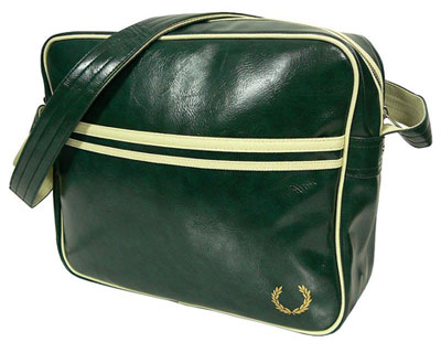 Vintage Shoulder  on Bag  But With Old School Looks   The Fred Perry Vintage Shoulder Bag
