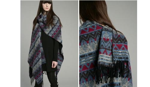 Fairisle scarf