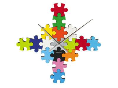 Puzzleclock