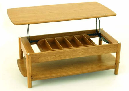 Ercol Is No Stranger To This Site But The Windsor Supper Table Certainly Strangest Design We Ve Seen From Company