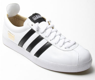 adidas gazelle trainers black and white
