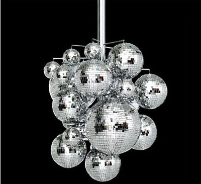 If You Ve Got A Room To Hold It Can Turn Your Home Into 70s Style Club With The Konfetti Chandelier From Bsweden