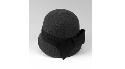 Pure wool cloche