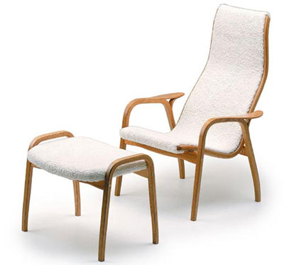 A Comfortable Seat To Kick Back Into After A Hard Dayu0027s Work U2013 The Yngve  Ekstrom Lamino Easy Chair.