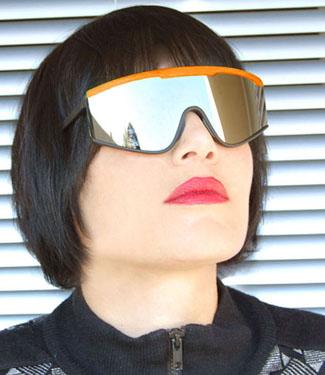 Giant vintage sunglasses