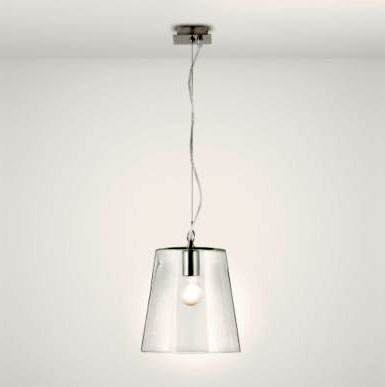 At first glance, you would expect the Mairi glass pendant light to be a