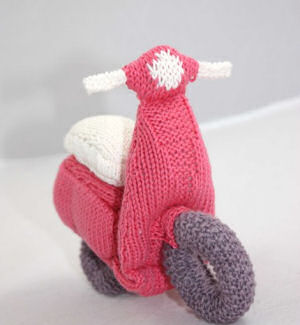 Knittedscooter