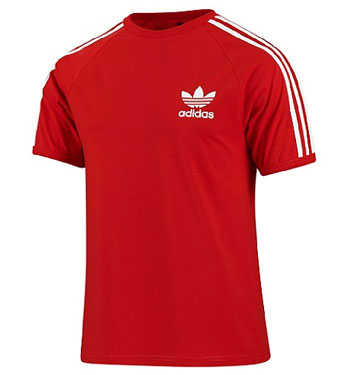 adidas originals trefoil t shirt retro classic tv