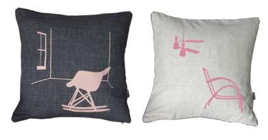 Snowden cushions