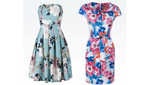 6db3db7cd5 Fifties Floral Dresses from Matalan - Retro to Go
