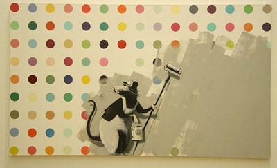 Banksy-hirst-spot