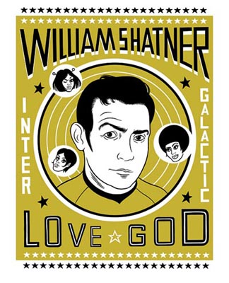 Shatner love god