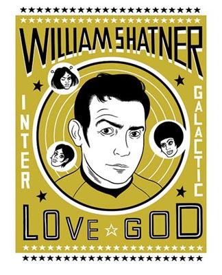 Shatner love god