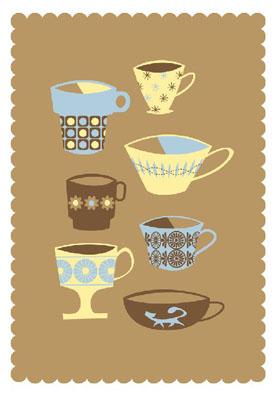Elford Vintage Teatime print