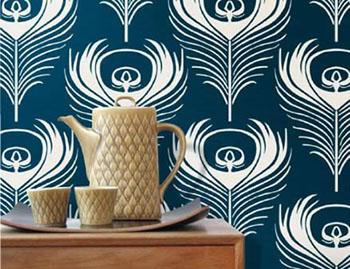 Ferm-living-Feather-wallpaper