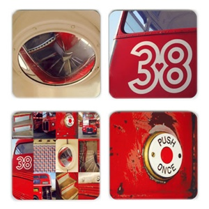 Routemaster coasters