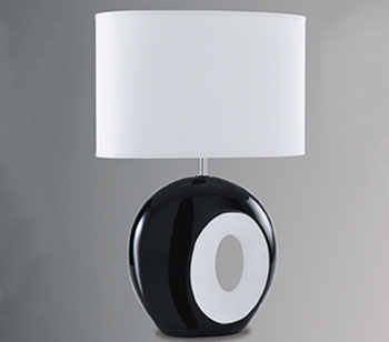 Simple If designer lighting is beyond your budget then these Retro Ceramic Table Lamps might be of interest