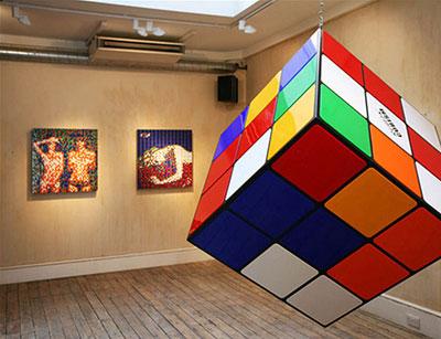 Space-invader-london-exhibi