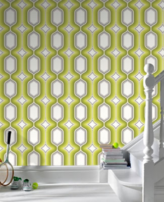 Nothing Quite Screams The 1970s Like A Bold Repetitive Design One Youll Find On Graham Brown Boheme Wallpaper Range