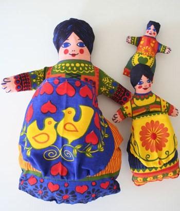 Clothkits dolls