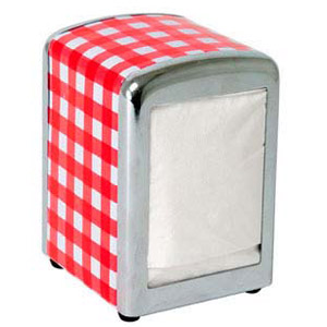 Red-check-napkinholder-300