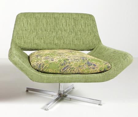 Bubinga lounge chair