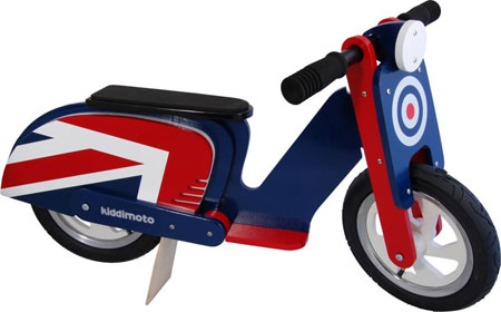 Kiddimoto Brit Pop scooter