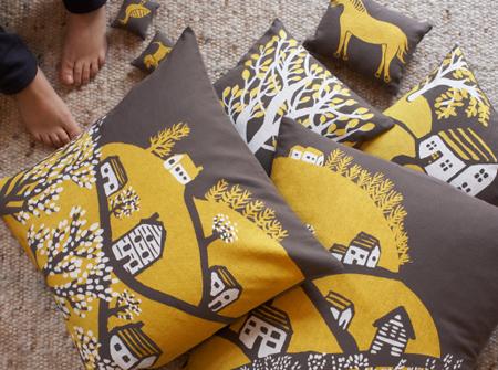Village cushion