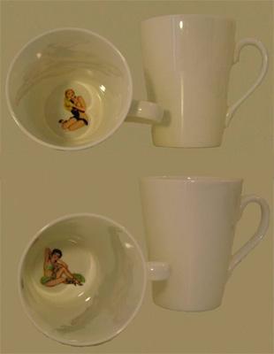 Crumpet mugs