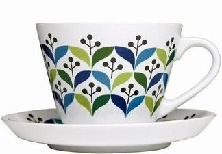 Sagaform tea cup and saucer