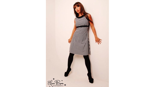 Houndstooth babydoll