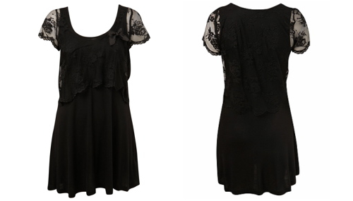 Petites lace dress