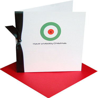 if the chelsea skinhead cards did nothing for you yesterday maybe the target friendly mod father christmas cards by made with love will - Target Photo Christmas Cards