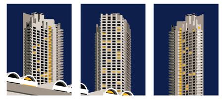 Barbican triptych