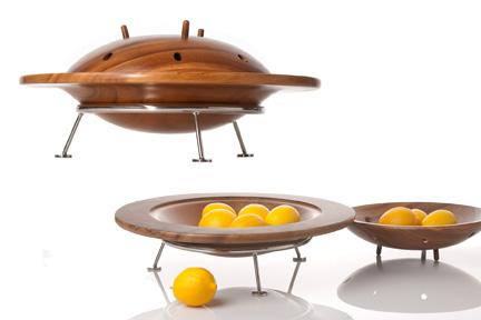 Flying saucer bowl
