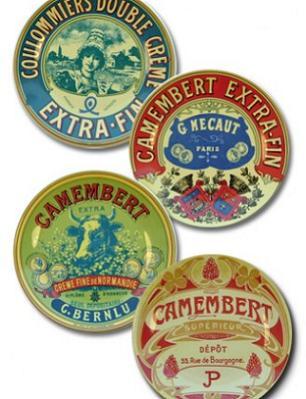 Camembert-plates