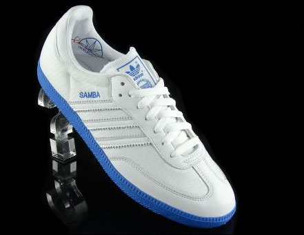 Adidas Samba trainers get exclusive white leather reissue - Retro to Go 284da80a3