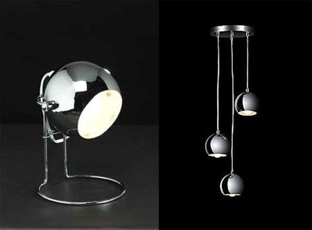 Homebase Offers Bargain 70s Style Eyeball Table Light And