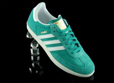 adidas samba trainers green