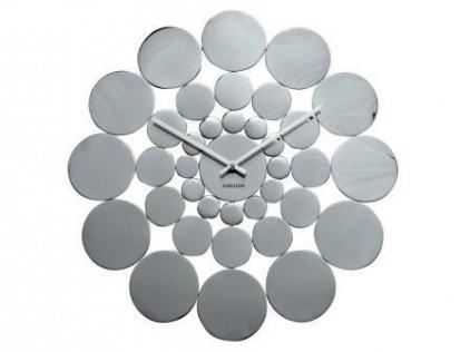 Karlsson retro disk clock