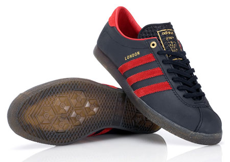 Adidas x Crooked Tongues London trainers - Retro to Go