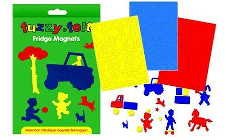 Fuzzyfeltmagnets