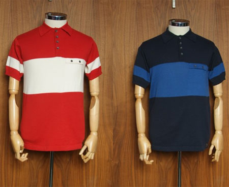 One True Saxon cycling polo shirt