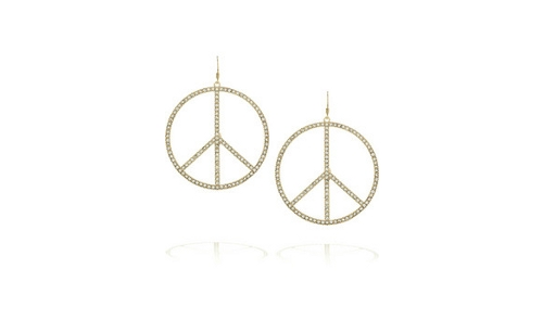Peaceearrings