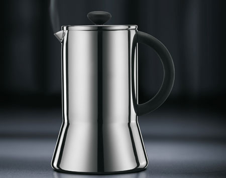 Taking its style cues from the modernist era the bodum presso coffee