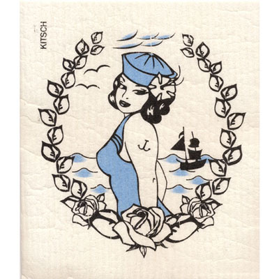 Sailor dish cloth