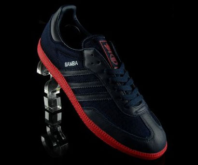 Adidas Samba reissued in black