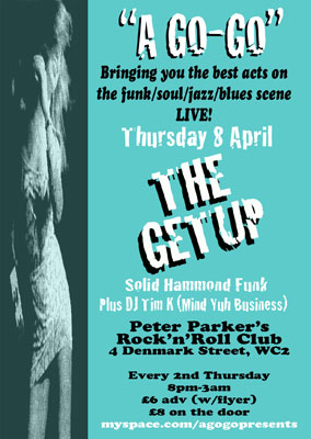 The Getup at A Go-Go (London)