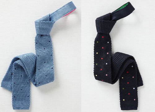 Boden silk knitted ties